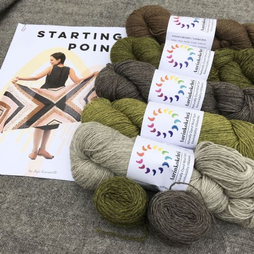 "Kit: ""Starting point"" Wrap - Earth"